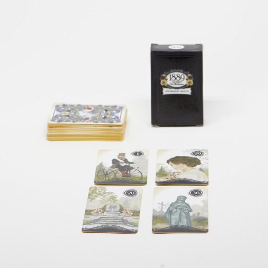 Lenormand deck and 2x2 tableau